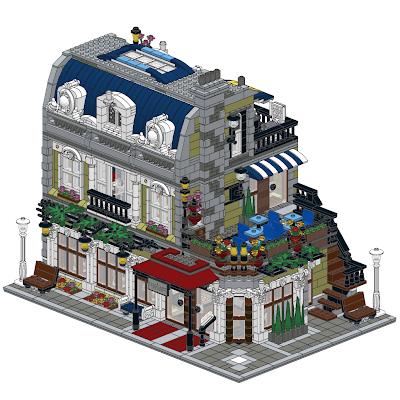 Parisian Restaurant Corner